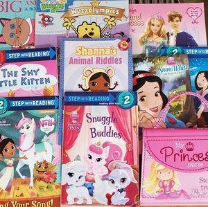 10 pc lot of Girl/Princess Books